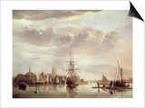 View of Dordrecht Posters by Aelbert Cuyp