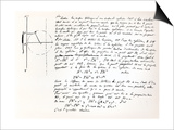Beginning of Galois's Examination Script for the Concours General, 1829 Prints by Evariste Galois