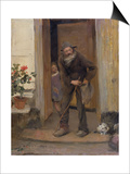 The Beggar, 1881 Prints by Jules Bastien-Lepage