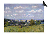 The Valley of the Seine at Saint-Cloud, 1875 Prints by Alfred Sisley