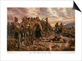 All That Was Left of Them': the Black Watch after the Battle of Magersfontein, 1899 Prints by Richard Caton Woodville
