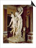 Apollo and Daphne, 1622-25 (Marble) Posters af Bernini, Giovanni Lorenzo