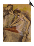Dancers in Repose, C.1898 (Pastel and Charcoal on Wove Paper) Posters by Edgar Degas