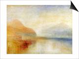 Inverary Pier, Loch Fyne, Morning, c.1840-50 Prints by J. M. W. Turner