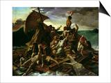The Raft of the Medusa Poster av Théodore Géricault