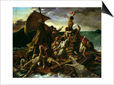 The Raft of the Medusa Print by Théodore Géricault