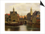 View of Delft c.1660-61 Posters by Jan Vermeer