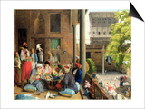 The Midday Meal, Cairo, 1875 Prints by John Frederick Lewis