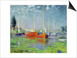 Argenteuil, circa 1872-5 Prints by Claude Monet