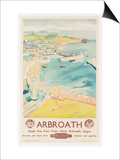 Arbroath, Poster Advertising British Railways, C.1950 Print by  English School
