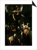 The Seven Works of Mercy, 1607 Prints by  Caravaggio