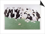 Roulette at Monte-Carlo, circa 1910 SwitchArt&#8482 Print by  Sem