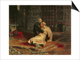 Ivan the Terrible and His Son on the 16th November, 1581, 1885 Posters by Ilya Efimovich Repin