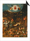 The Last Judgement (Oil on Panel) Posters by Hieronymus Bosch