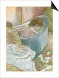 The Bath Art by Edgar Degas