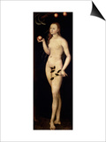 Eve, 1528 Posters by Lucas Cranach the Elder