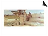 The Voice of Spring, 1908 Prints by Sir Lawrence Alma-Tadema