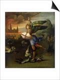 St. Michael, circa 1503-05 Posters par  Raphael
