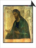 Icon of St. John the Baptist Poster by Andrei Rublev