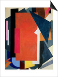 Painterly Architectonics, 1916-17 Prints by Liubov Sergeevna Popova
