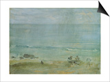 By the Shore, St. Ives Posters by James Abbott McNeill Whistler