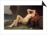 Mary Magdalene in the Cave, 1876 Posters by Jules Joseph Lefebvre