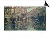 Corner of Leidsche Square, Amsterdam Prints by Georg-Hendrik Breitner