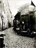 Rue du Jardinet and the Cul-De-Sac of Rohan, Paris, 1858-78 Posters by Charles Marville