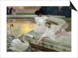 The Swans, 1900 Posters by Joseph Marius Avy