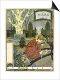March Posters by Eugene Grasset