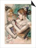 Dancer, 1896 Print by Edgar Degas