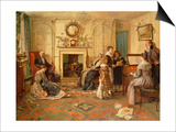 Home Sweet Home Prints by Walter Dendy Sadler