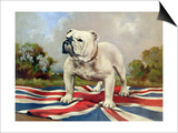 British Bulldog Prints