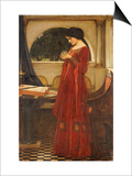 The Crystal Ball, 1902 Prints by John William Waterhouse