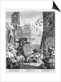 Beer Street, 1751 Poster by William Hogarth