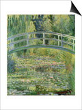 Waterlily Pond, 1899 Prints by Claude Monet