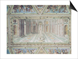 Triumph of Christianity, from the Raphael Rooms Print by Tommaso Laureti