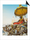 Mansa Kankan Musa I, 14th Century King of the Mali Empire Posters by  Mcbride