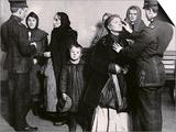 Newly Arrived Immigrants Undergoing Medical Examination on Ellis Island, New York, c.1910 Art