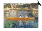 Boating on the Seine, c.1879 Prints by Pierre-Auguste Renoir