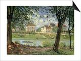 Villeneuve-La-Garenne, 1872 Poster by Alfred Sisley