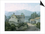 On Ullswater, Cumberland, 1791 Prints by John White Abbott