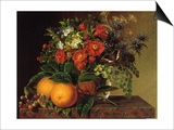 Still Life, 1834 Prints by Johan Laurentz Jensen