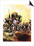 Incident from King Solomon's Mines Posters by Don Lawrence