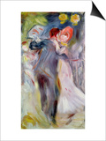 The Dance in the Country, C.1882-3 Prints by Pierre-Auguste Renoir
