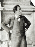Portrait of Gustav Mahler, 1907 Prints