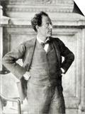 Portrait of Gustav Mahler, 1907 Posters