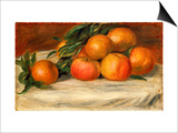 Still Life with Apples and Oranges, C.1901 Posters by Pierre-Auguste Renoir