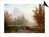 Half Dome, Yosemite Prints by Albert Bierstadt