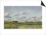 Banks of the Loing, Late 1860S Prints by Charles-Francois Daubigny